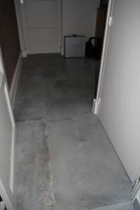 carrelage 90/90 cm couloir